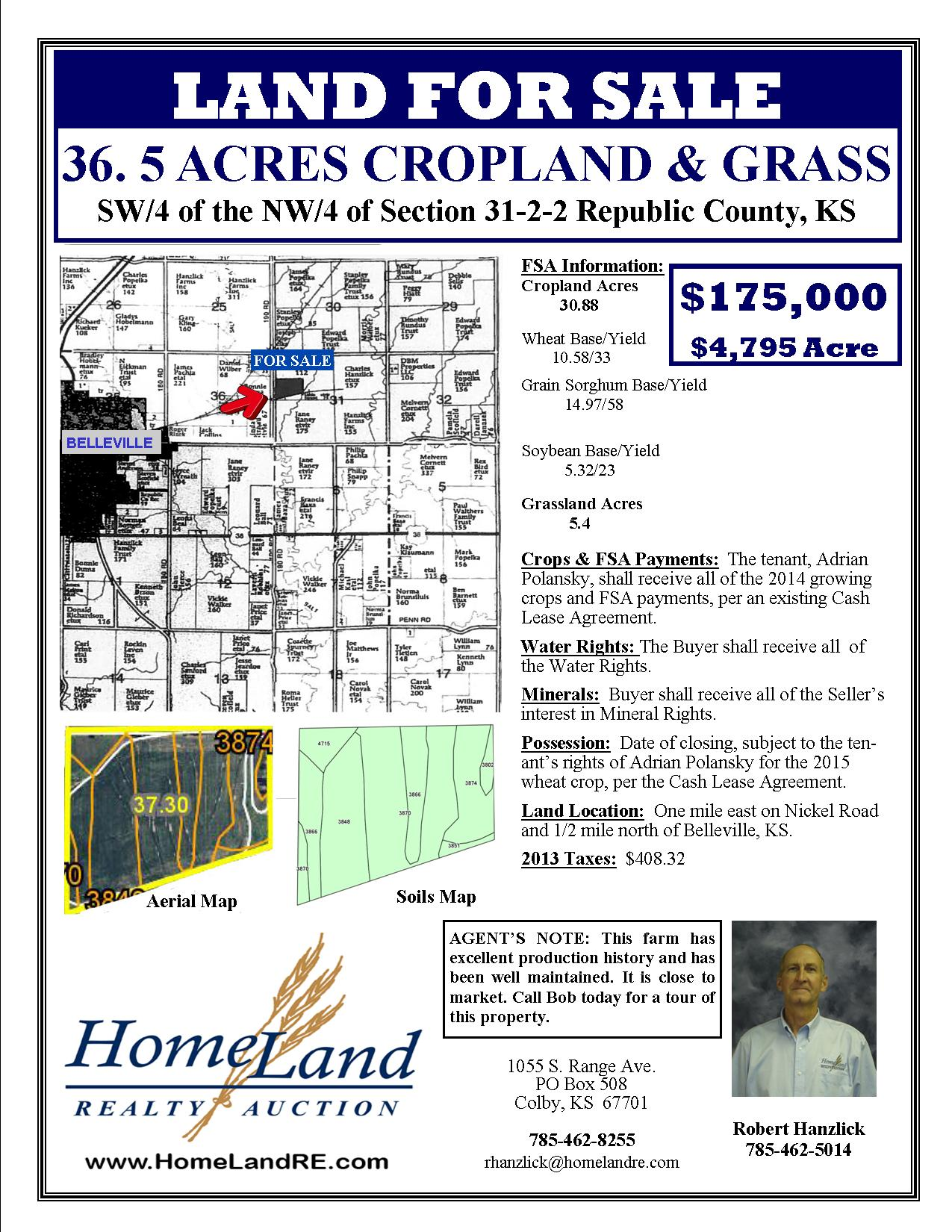 Kansas republic county agenda - Click To View Property Flyer